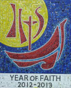 Year of Faith Mosaic